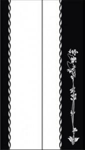 Рисунок на стекле для двудверного шкафа-купе, #25981