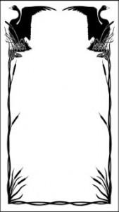 Орнамент на стекле, #25992