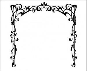 Орнамент для нанесения на зеркало,#26399