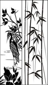 Рисунок «Бамбук», #26401