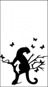 Рисунок для пескоструйки «Пантера», #26407
