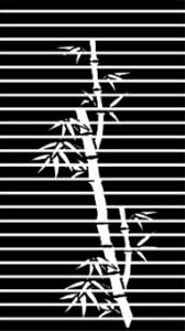 Рисунок на стекле «Бамбук», #26423