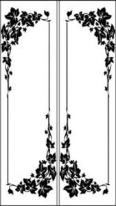 Орнамент на стекле, #26727